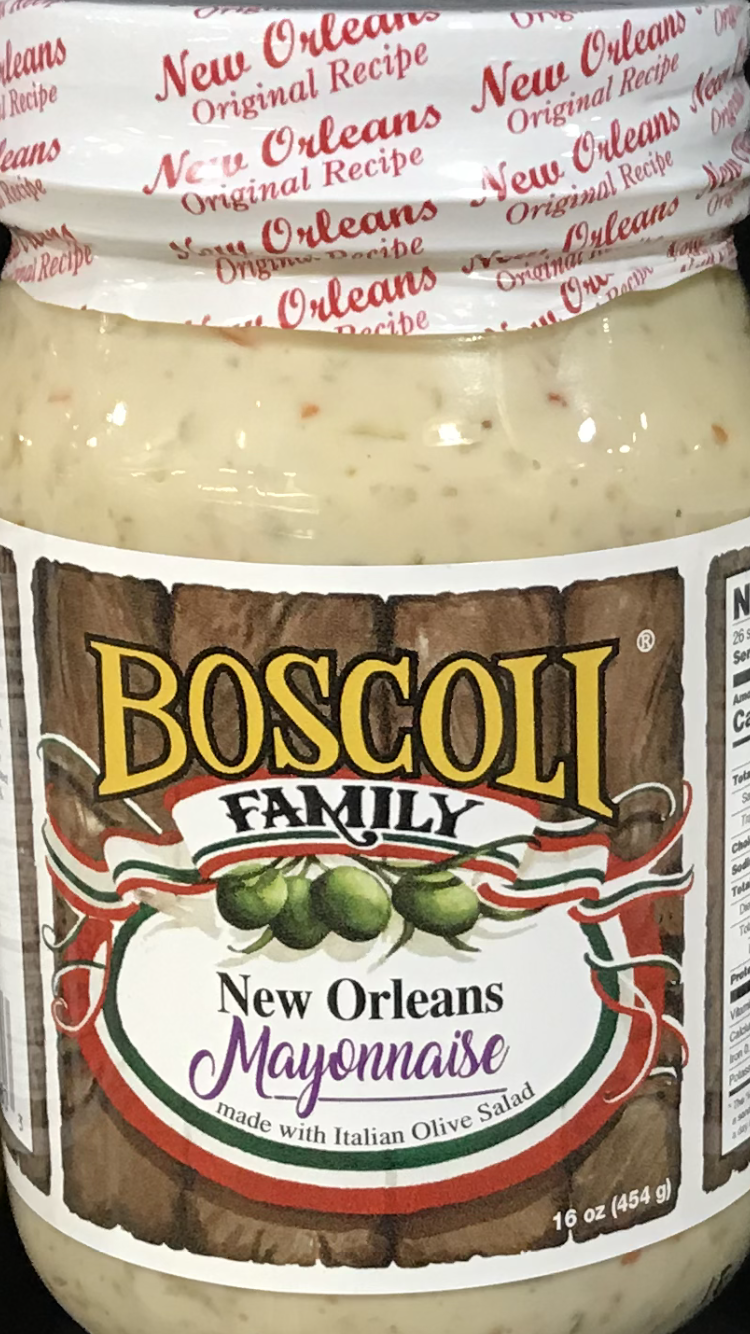 New Orleans Mayonnaise With Italian Olive Salad