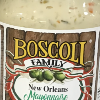 New Orleans Mayonnaise with Jalapeno Olive Salad
